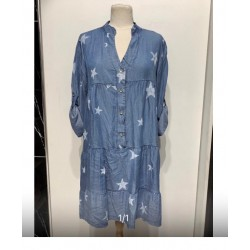 Robe Jeans Etoiles
